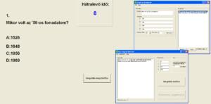 Teszt Megoldó Rendszer képernyőkép